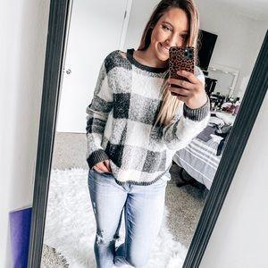 •Express• plaid sweater